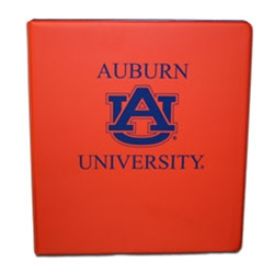 1 Inch Interlocking AU Orange Binder