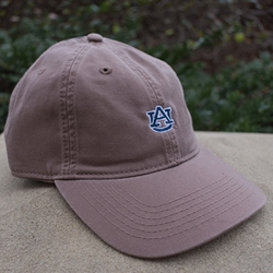 AU Interlock Unstructured Relaxed Twill Cap, Driftwood