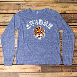Auburn Over Beanie Head Longsleeve Tee - League Brand